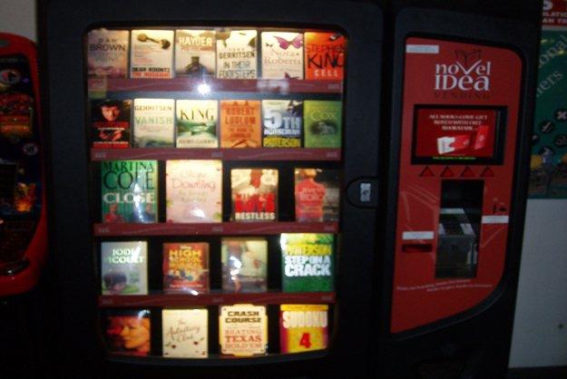 book vending machine-